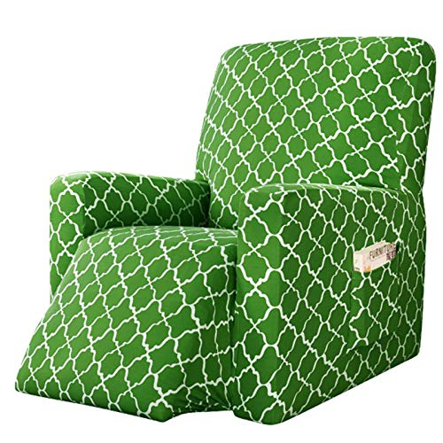 Stretchhusse für Relaxsessel Elastisch Bezug für Fernsehsessel Jacquard Husse für Fernsehsessel, Relaxsessel, Liege Sessel, Schaukelstuhl, Relaxstuhl, Recliner Sessel (Color : Color 2)