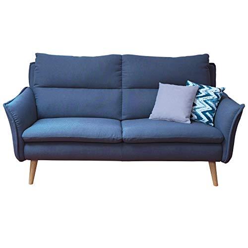 3 Sitzer Sofa Retrosofa Retrocouch 60er Jahre Einzelsofa Hochlehnersofa Modern Wohnlandschaft Auf Massivholzfussen In Skandinavischem