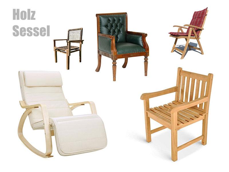 Sessel Holz