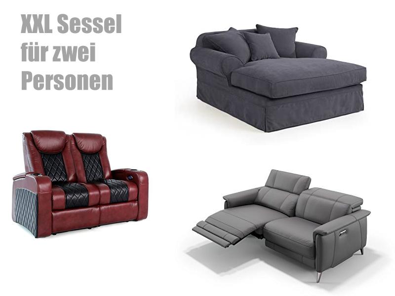 XXL Sessel für 2 Personen